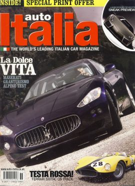 Vintage car magazine in good clean read condition. Please see photo and read full description. Ref638