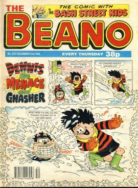 1994 December 31st BEANO vintage comic Good Gift Christmas Present Birthday Anniversary ref1 A vintage comic in good read condition. Please see larger photo and full description for details.