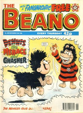 1996 November 16th BEANO vintage comic Good Gift Christmas Present Birthday Anniversary ref13 A vintage comic in good read condition. Please see larger photo and full description for details.