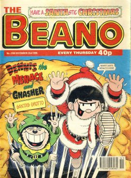 1995 December 23rd BEANO vintage comic Good Gift Christmas Present Birthday Anniversary ref18 A vintage comic in fair read condition. Please see larger photo and full description for details.