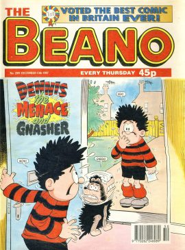 1997 December 13th BEANO vintage comic Good Gift Christmas Present Birthday Anniversary ref3 A vintage comic in good read condition. Some marks on cover. Please see larger photo and full description for details.