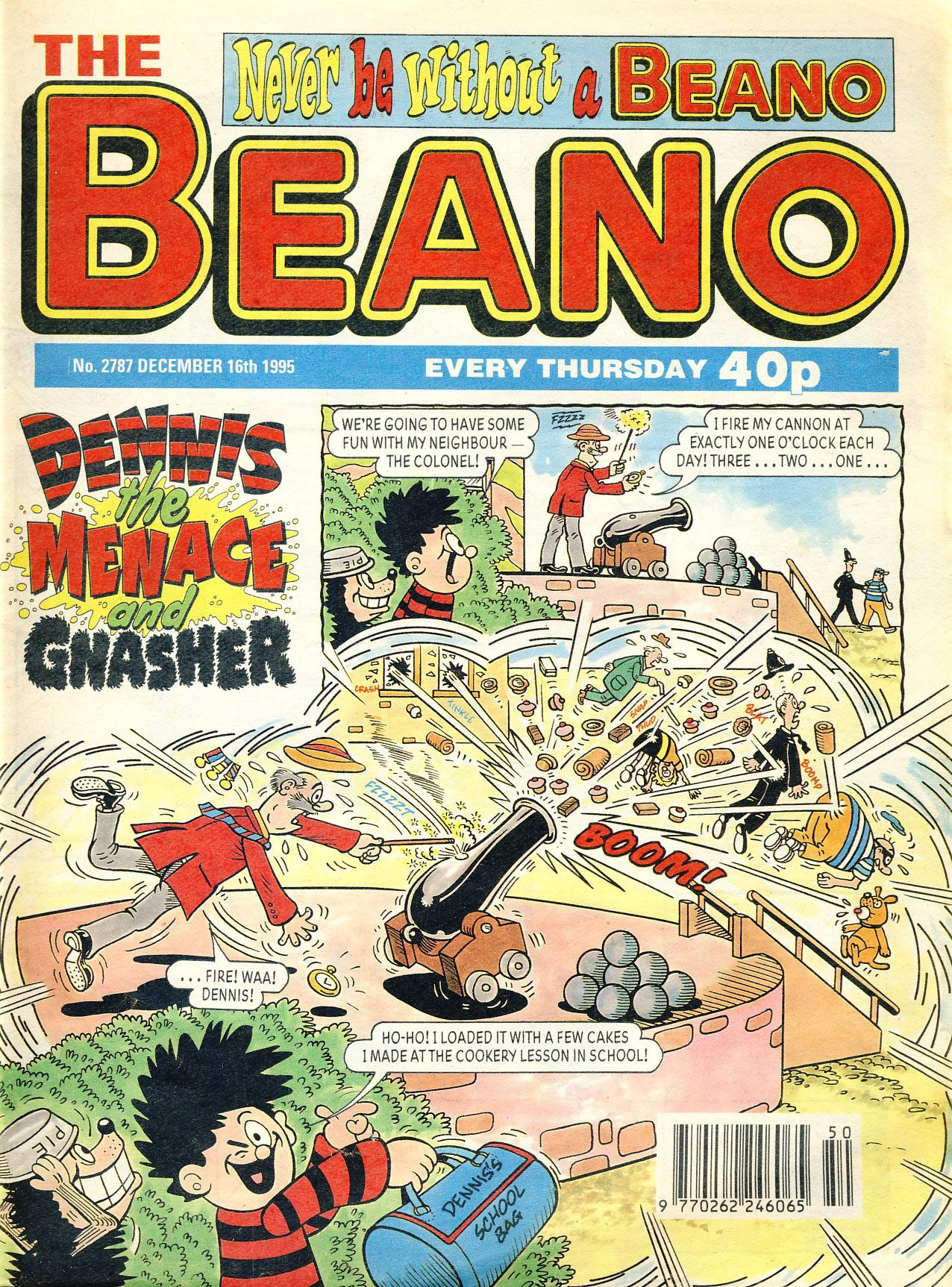 1995 December 16th BEANO vintage comic Good Gift Christmas Present Birthday Anniversary ref5 A vintage comic in good read condition. Please see larger photo and full description for details.