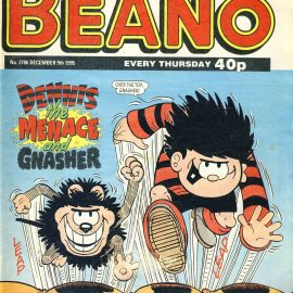 1995 December 9th BEANO vintage comic Good Gift Christmas Present Birthday Anniversary ref6 A vintage comic in good read condition. Please see larger photo and full description for details.