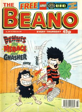 1997 October 25th BEANO vintage comic Good Gift Christmas Present Birthday Anniversary ref9 A vintage comic in good read condition. Please see larger photo and full description for details.