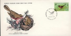 The Dartford Warbler bird GUERNSEY 1978 Stamp World Wildlife Fund First Day Cover FDC refWWF54 Stamp Cover with information paper regarding cover topic.  A vintage lightweight cover in very good condition. Please see larger photo and full description for details.