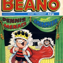 1997 August 9th BEANO vintage comic Good Gift Christmas Present Birthday Anniversary ref127 A vintage comic in good read condition. Please see larger photo and full description for details.