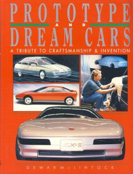 Prototype and Dream Cars is a pre-owned book in very good clean condition. DJ shows some wear.