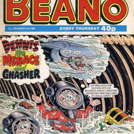 1996 March 2nd BEANO vintage comic Good Gift Christmas Present Birthday Anniversary ref134 A vintage comic in good read condition. Please see larger photo and full description for details.