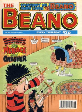 1997 February 22nd BEANO vintage comic Good Birthday Present Gift Christmas Anniversary ref141 A vintage comic in good read condition. Please see larger photo and full description for details.