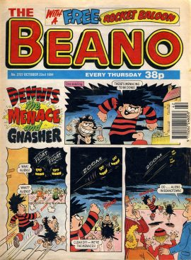 1994 October 22nd BEANO vintage comic Good Birthday Present Gift Christmas Anniversary ref158 A vintage comic in good read condition. Please see larger photo and full description for details.