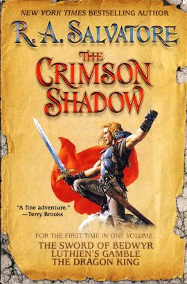 The Crimson Shadow by R A Salvatore 2006 large paperback book ref75 A pre-owned book in good condition. Please see photo and full description.