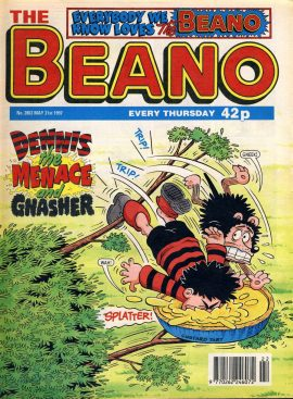 1997 May 31st BEANO vintage comic Good Birthday Present Gift Christmas Anniversary ref159 A vintage comic in good read condition. Please see larger photo and full description for details.
