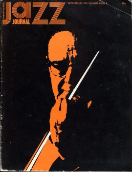 Jazz Journal Sept 1975 Vol.28 No.9 vintage magazine ref01-014 42 pages. This is a used item in acceptable condition. Please read full description.