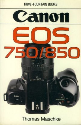 Canon EOS 750/850 By Thoma Maschke 1989 Paperback Book refS4 This is a pre-owned book in good used condition