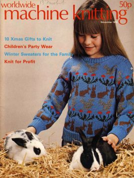 Worldwide Machine Knitting patterns magazine November 1978 56 pages refS1-057 This vintage publication is in Good Condition for age. Please read the full description and see photo.