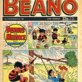 1988 November 5th BEANO vintage comic Good Birthday Present Gift Christmas Anniversary ref168 A vintage comic in good read condition. Please see larger photo and full description for details.