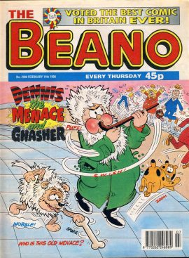 1998 February 14th BEANO vintage comic Good Birthday Present Gift Christmas Anniversary ref174 A vintage comic in good read condition. Please see larger photo and full description for details.