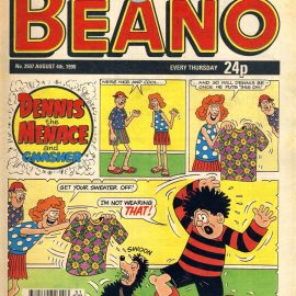 1990 August 4th BEANO vintage comic Good Birthday Present Gift Christmas Anniversary ref178 A vintage comic in good read condition. Please see larger photo and full description for details.