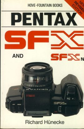 PENTAX SFX & SFXn by Richard Hunecke 1990 Paperback Book refS4 This is a pre-owned book in good used condition