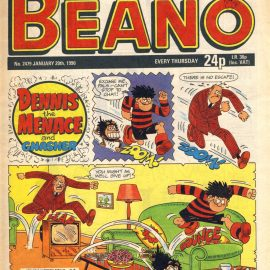 1990 January 20th BEANO vintage comic Good Birthday Present Gift Christmas Anniversary ref185 A vintage comic in good read condition. Please see larger photo and full description for details.
