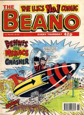 1997 April 12th BEANO vintage comic Good Birthday Present Gift Christmas Anniversary ref188 A vintage comic in good read condition. Please see larger photo and full description for details.