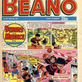 1991 June 8th BEANO vintage comic Good Birthday Present Gift Christmas Anniversary ref191 A vintage comic in good read condition. Please see larger photo and full description for details.