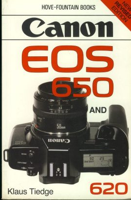 Canon EOS 650 & 620 Klaus Tiedge 1989 Paperback Book refS4 This is a pre-owned book in good used condition
