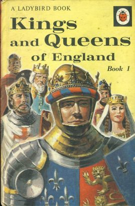 Vintage Ladybird book Kings & Queens of England 2'6 HB ref100020 This is a pre-owned book in good used condition. The cover has marks bumps & scuffs which is to be expected for a book of this age. Please see larger photo.