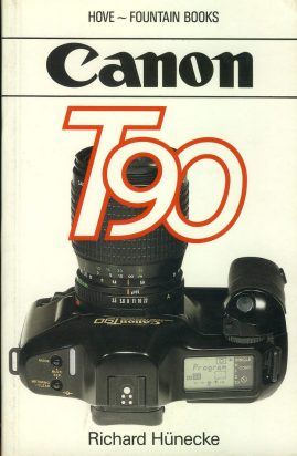 Canon T90 by Richard Hunecke 1989 Paperback Book refS4 This is a pre-owned book in good used condition