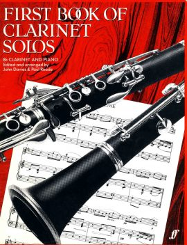 First Book of Clarinet Solos 1983 Bb Clarinet & Piano ref01-002 This is a used item in good condition. Please read full description.