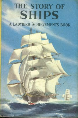 Vintage Ladybird book The Story of Ships 'Achievemnens Book' 2'6 HB ref100024 This is a pre-owned book in good used condition. The cover has marks