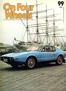 1978 part 99 On Four Wheels Encyclopedia of Motoring Weekly vol.7 ref01-025 This is a used item in good condition. Please read full description.