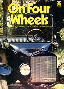 1978 part 35 On Four Wheels Encyclopedia of Motoring Weekly vol.3 ref01-026 This is a used item in good condition. Please read full description.