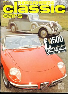 1980 April Thoroughbred & Classic Cars vol.7 #7  vintage magazine ref01-028 112 pages. This is a used item in good condition. Please read full description.