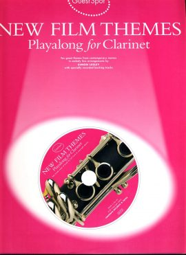 New Film Themes Playalong for Clarinet + Movie Themes CD 2002 GuestSpot ref01-003 This is a used item in good condition. Please read full description.