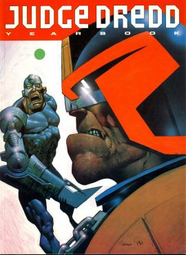 JUDGE DREDD Year Book 1994 Fleetway Editions paperback ref01-030 This is a used item in very good condition. Please read full description.