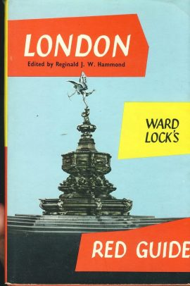 Ward Lock's Red Guide LONDON 1967 Hardback Book with DJ refS4 Vintage pre-owned book in good used condition. Signs of age. Please see photo and read full description.