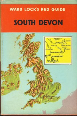 Ward Lock's Red Guide SOUTH DEVON Hardback Book with DJ refS4 Vintage pre-owned book in good used condition. Signs of age. Please see photo and read full description.