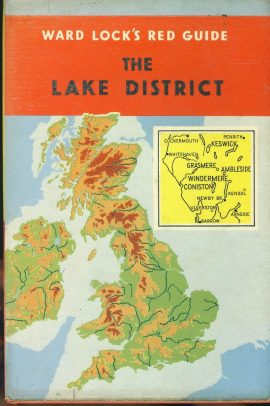 Ward Lock's Red Guide LAKE DISTRICT Hardback Book with DJ refS4 Vintage pre-owned book in good used condition. Signs of age. Please see photo and read full description.
