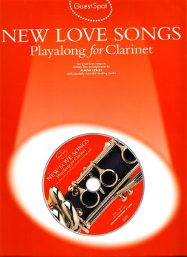 New Love Songs Playalong for Clarinet + CD 2002 GuestSpot ref01-04 This is a used item in good condition. Please read full description.