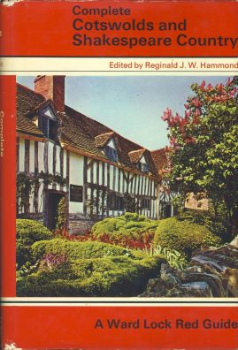 Ward Lock's Red Guide COTSWOLDS SHAKESPEARE COUNTRY 1979 Hardback Book with DJ refS4 Vintage pre-owned book in good used condition. Please see photo and read full description.