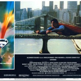 SUPERMAN film Christopher Reeve large postcard no.3 28cm x 21.5cm ref44 S2-box4  This is a pre-owned poster / postcard in very good condition - please see full description and photo.