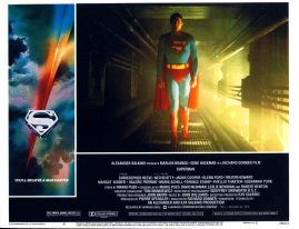 SUPERMAN film Christopher Reeve large postcard no.6 28cm x 21.5cm ref46 S2-box4  This is a pre-owned poster / postcard in very good condition - please see full description and photo.