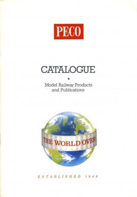 1994 PECO Catalogue Model Railways Products & Publications 84 pages + price list pull out ref50 S2-box4  This is a pre-owned product in very good condition - please see full description and photo.