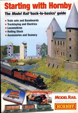 Starting with Hornby Model Rail 'back-to-basics' guide 2002 30 pages ref51 S2-box4  This is a pre-owned product in very good condition - please see full description and photo.