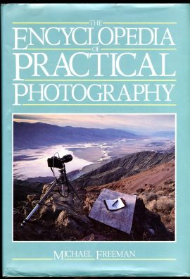 Encyclopedia of Practical Photography MICHAEL FREEMAN 1986 HB Book with DJref105 This is a pre-owned book in very good condition for age and use. It has been read so it has some signs of handling and page corner turns. Curling to edge of DJ