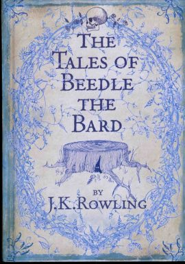 The Tales of Beedle the Bard by J.K. Rowling 2008 hardback book ref107 A pre-owned vintage book in good condition. Marks on cover. Text very clean and bright.  Please see large photo and read full description.