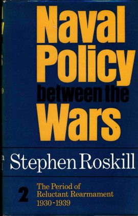 Naval Policy between the Wars by Stephen Roskill 1976 vintage HB book DJ ref8 This is a pre-owned book in good clean condition. Dustjacket has some scuffs