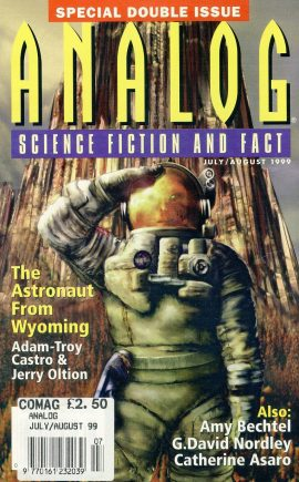 ANALOG Science Fiction & Fact July Aug 1999 Double Issue  ref100090 This is a pre-owned paperback book / magazine in very good used condition. Please see larger photo.