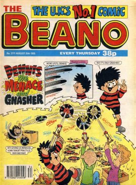 1995 August 26th BEANO vintage comic Good Gift Christmas Present Birthday Anniversary ref102 A vintage comic in good read condition. Please see larger photo and full description for details.